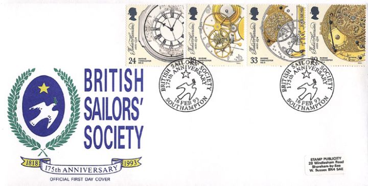 Maritime Clocks, British Sailors' Society