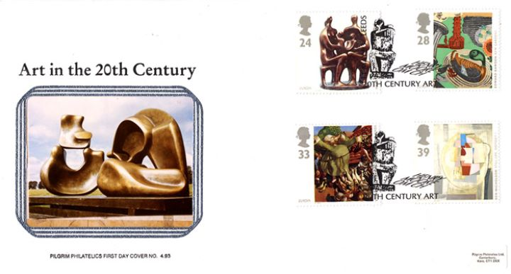 20th Century Art, Sculptures by Henry Moore