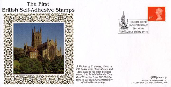 Machins (EP): Self Adhesive Definitive: 1st Flame, Britain's First Self-Adhesive Stamp