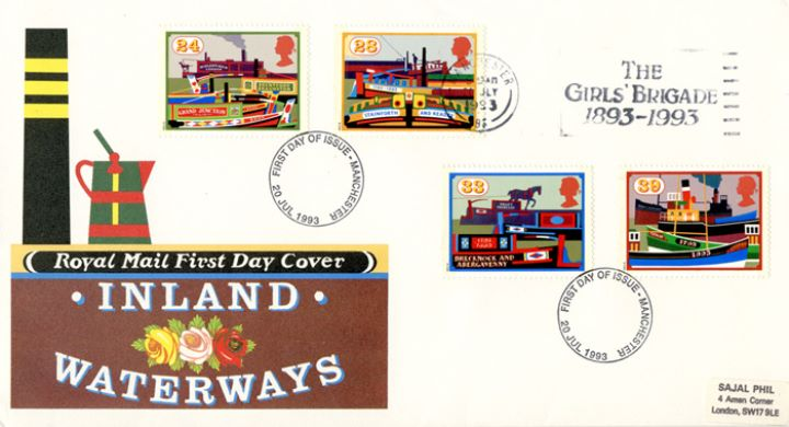Inland Waterways, Slogan Postmarks