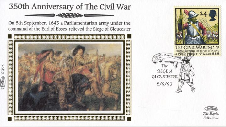 English Civil War, Siege of Gloucester