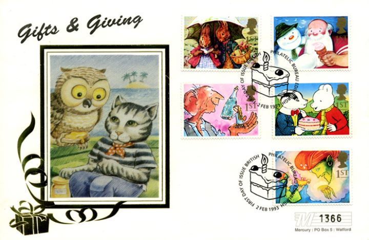 Gift Giving (Greetings), The Owl and Pussycat