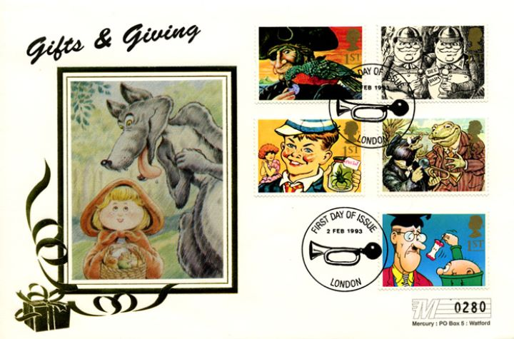 Gift Giving (Greetings), Little Red Riding Hood
