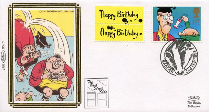 Gift Giving (Greetings), Bash Street Kids