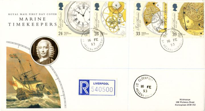 Maritime Clocks, CDS Postmarks
