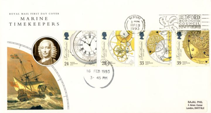 Maritime Clocks, Slogan Postmarks