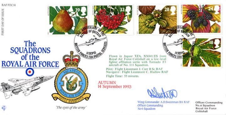 4 Seasons: Autumn, Squadrons of the Royal Air Force