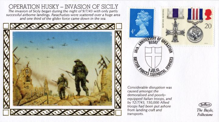 Operation Husky, Invasion of Sicily