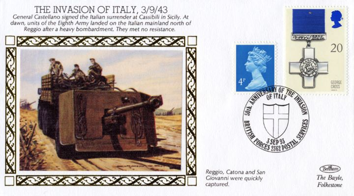 The Invasion of Italy, Eighth Army