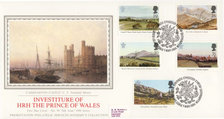 Prince of Wales Investiture, Caernarfon Castle