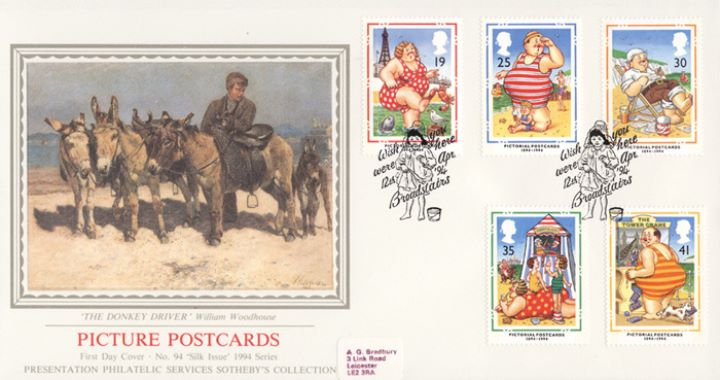 Picture Postcards, The Donkey Driver