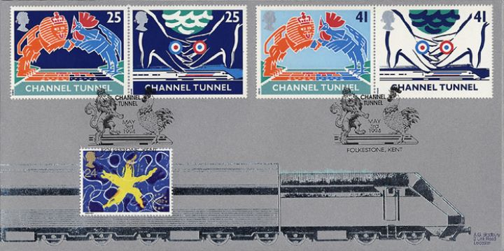 Channel Tunnel, Silver train