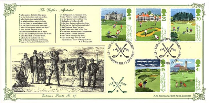 Golf, The Golfers' Alphabet