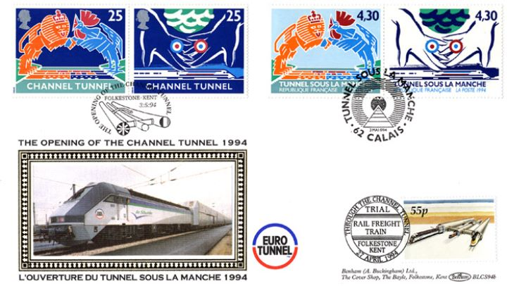 Channel Tunnel, Pair of Covers