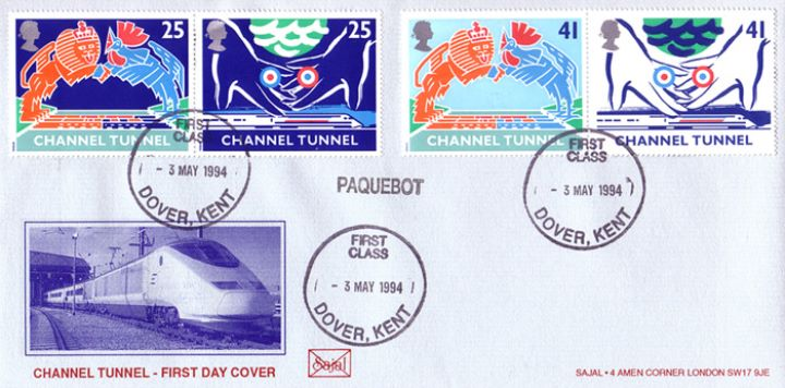 Channel Tunnel, Eurostar