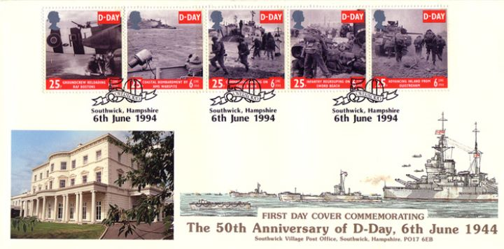 D-Day 50th Anniversary, Southwick - SHAEF
