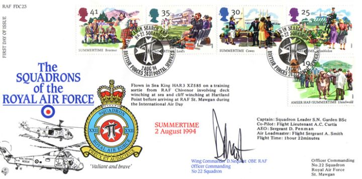 4 Seasons: Summer, Squadrons of the Royal Air Force