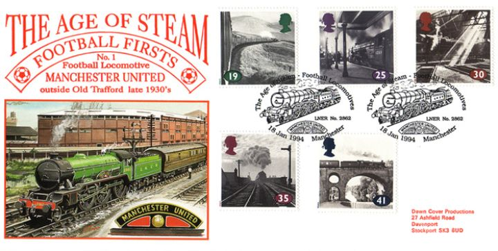 The Age of Steam, Manchester United