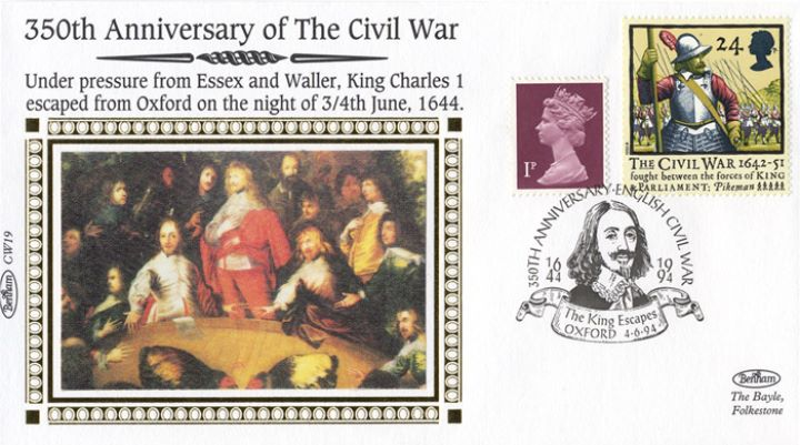 English Civil War, The King Escapes