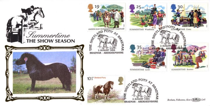 4 Seasons: Summer, Shetland Pony