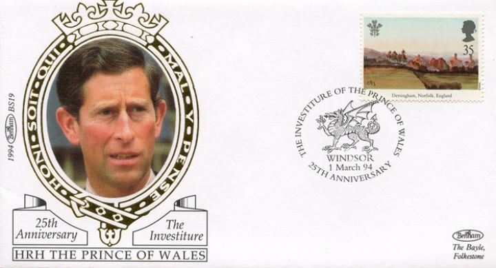 Prince of Wales Investiture, Prince of Wales