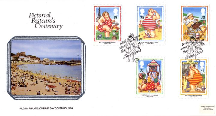 Picture Postcards, At the Seaside - Broadstairs
