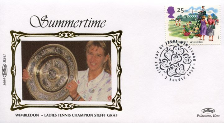 4 Seasons: Summer, Steffi Graf - Wimbledon