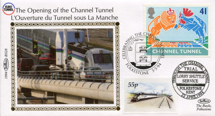 Channel Tunnel, Shuttle Service