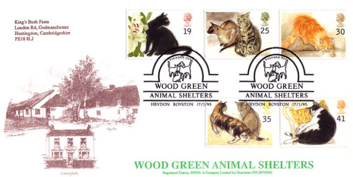 Cats, Wood Green Animal Shelters