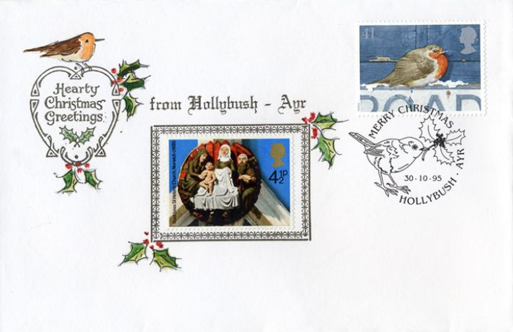 Christmas 1995, Hearty Christmas Greetings