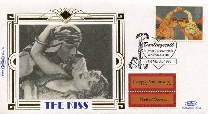 Love & Kisses (Greetings), Rudolph Valentino & Agnes Ayres