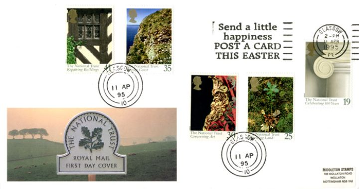 National Trust, Slogan Postmarks