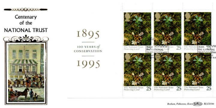 PSB: National Trust - Pane 1, 100 Years of Conservation