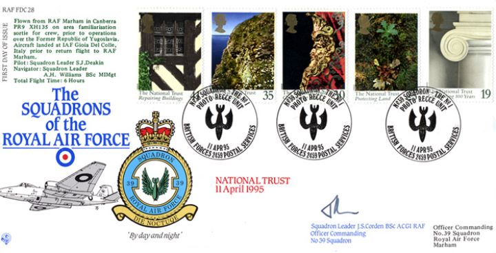 National Trust, Squadrons of the Royal Air Force