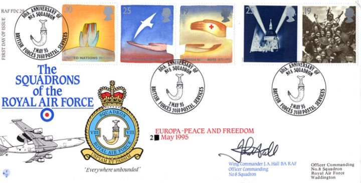 Peace and Freedom, Squadrons of the Royal Air Force