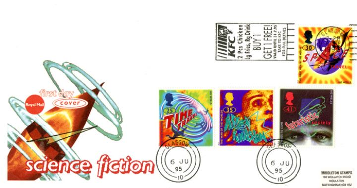 Science Fiction, Slogan Postmarks