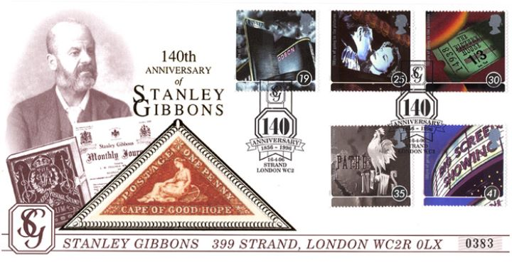 Cinema Centenary, Stanley Gibbons 140th Anniversary