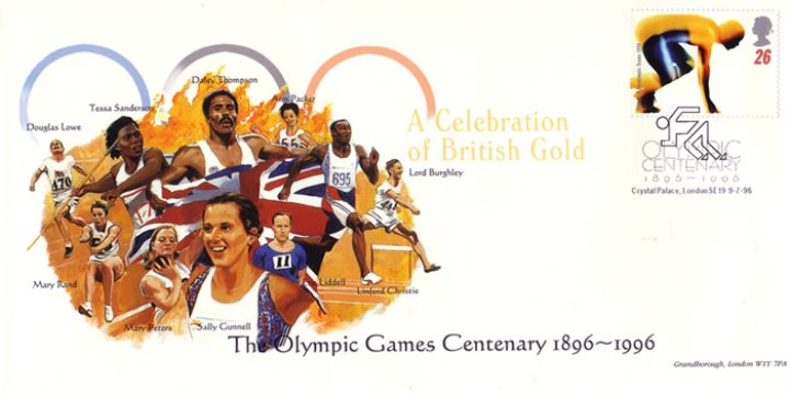 Olympic Games 1996, A Celebration of British Gold