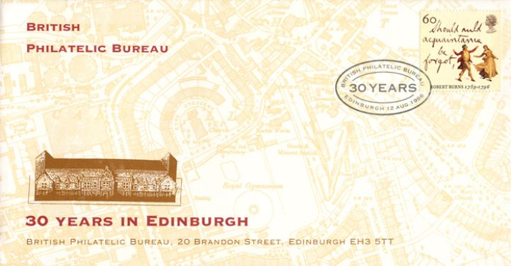 British Philatelic Bureau, 30 Years in Edinburgh