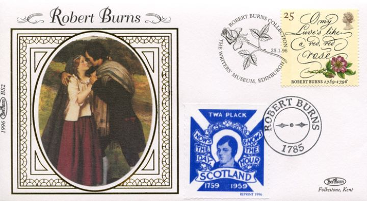 Robert Burns Bicentenary, Burns and Highland Mary