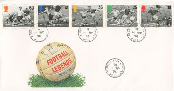 Football Legends, Autographed Football