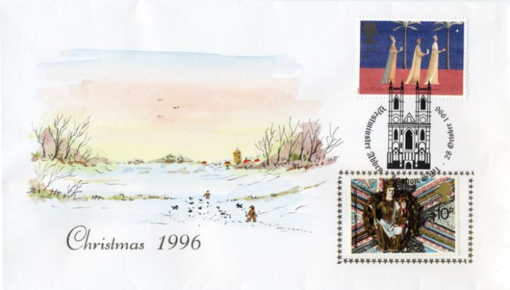 Christmas 1996, Winter Countryside