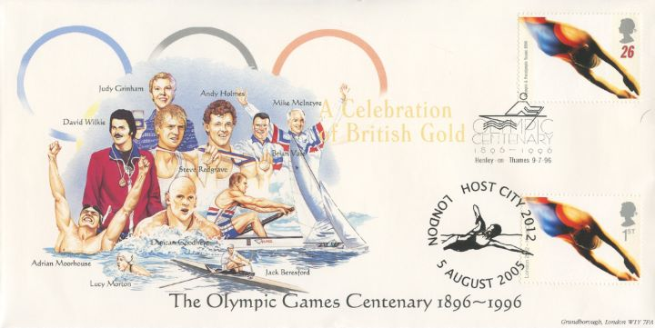 Olympic Games 1996, Swimming, Rowing, Yachting & Canoeing