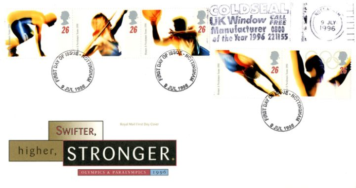 Olympic Games 1996, Slogan Postmarks