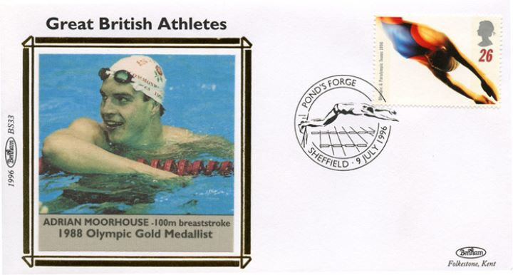 Olympic Games 1996, Adrian Moorhouse