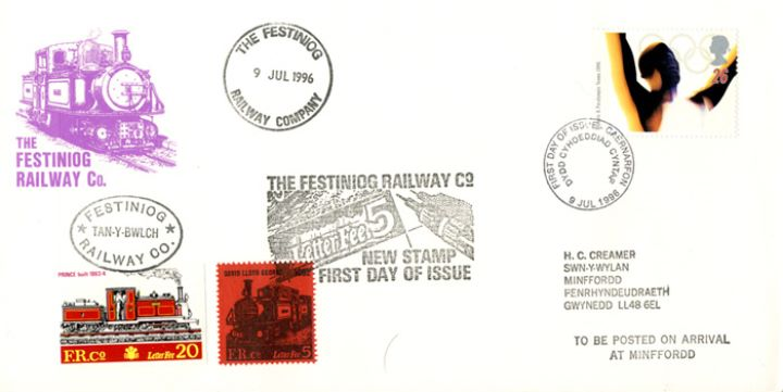 Olympic Games 1996, Festiniog Railway