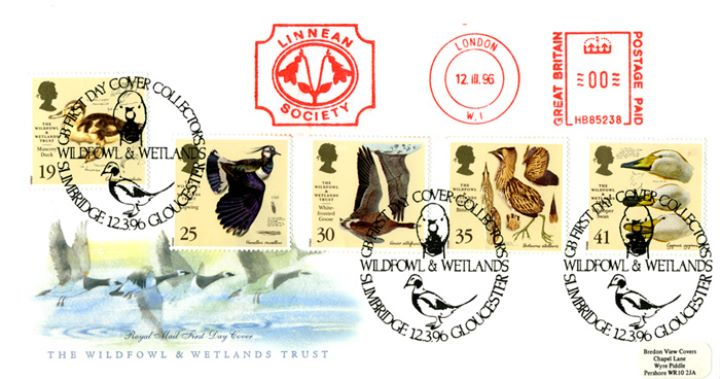 Wildfowl & Wetlands Trust, Linnean Society Meter Mark