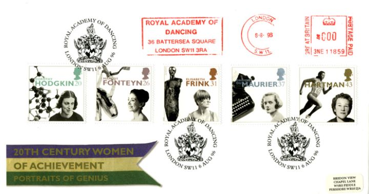 Women of Achievement, 20th Century Women