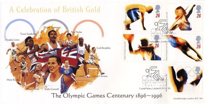 Olympic Games 1996, Athletics and Field Events