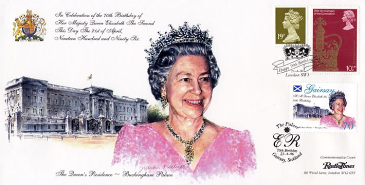 The Queen's 70th Birthday, Buckingham Palace